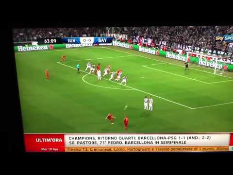 Juventus vs Bayern Monaco 0-2 (10-4-2013)