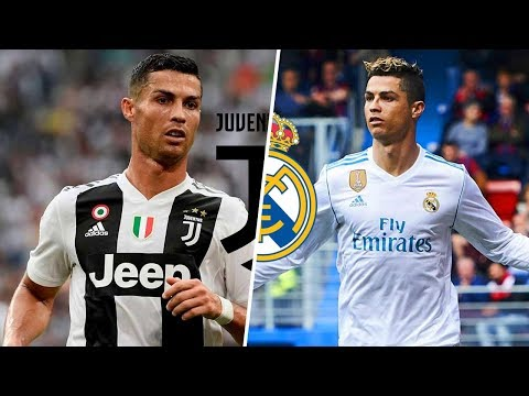 Ronaldo in Juventus vs Ronaldo in Real Madrid