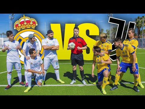 REAL MADRID VS JUVENTUS ¡PARTIDO FÚTBOL CHAMPIONS! [Crazy Crew]