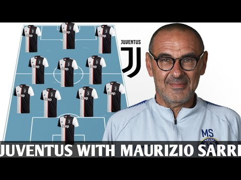 JUVENTUS Potential Lineup Next Season With Maurizio Sarri