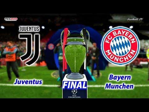 PES 2019 | Juventus vs Bayern Munchen | Final UEFA Champions League | Gameplay PC