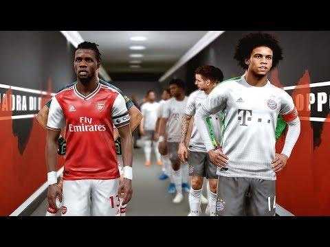 Arsenal vs Bayern Munich – Potential Lineup 2019/20 ft Sane , Zaha , Ceballos