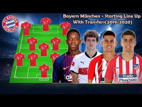 Bayern München – Starting Line Up With Transfers(2019-2020) ft.Dembele, Rodri, Pavard, Hernandez