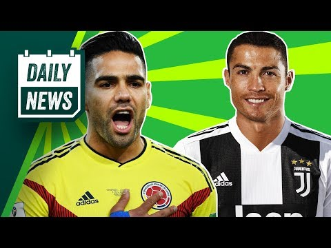 TRANSFERS and WORLD CUP NEWS: Cristiano Ronaldo closer to Juventus + angry Colombians start petition