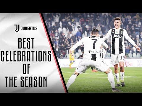 Best Juventus goal celebrations of the 2018/19 season!