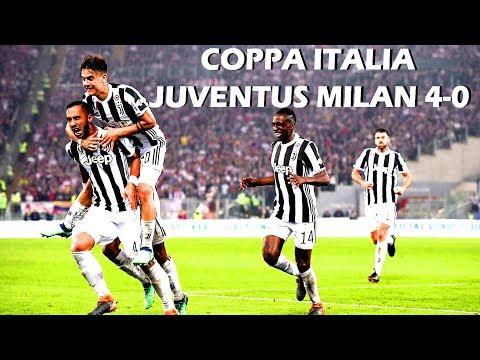 JUVENTUS VINCE COPPA ITALIA CON 4 SCHIAFFI AL MILAN DI GATTUSO!