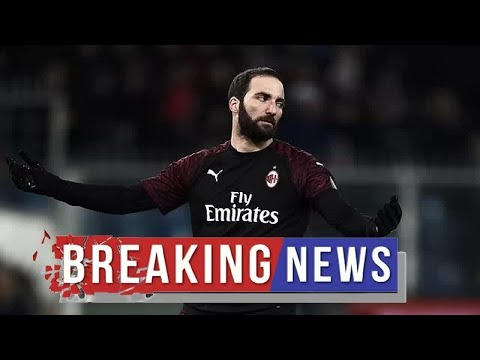 Chelsea transfer news: Juventus and AC Milan to 'hold talks over Gonzalo Higuain's future'