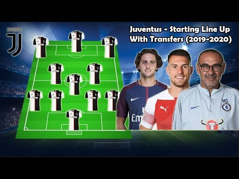 JUVENTUS – Potential Line Up With Transfers (2019-2020) ft.Rabiot, Ramsey, Sarri