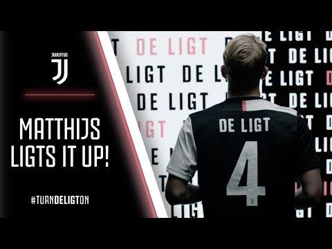LIGTS ON! | MATTHIJS DE LIGT IS A JUVENTUS PLAYER!