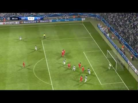 Bayern Munchen vs Juventus 2-0 Highlights 02-04-13 Quarter Finals Champions League | Pes 2013