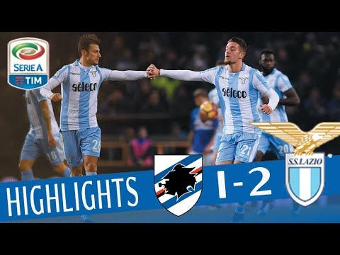Sampdoria – Lazio 1-2 – Highlights – Giornata 15 – Serie A TIM 2017/18