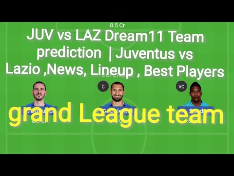JUV vs LAZ Dream11 Team prediction  | Juventus vs Lazio ,News, Lineup , Best Players