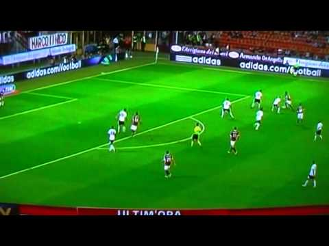 MILAN-LAZIO 2-2 *full match highlights* SKY  [09-09-2011] – SERIE A –