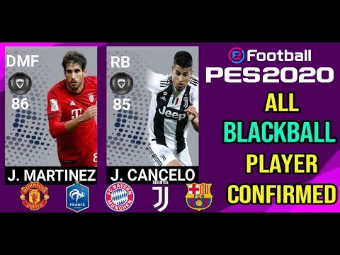 PES 2020 ALL BLACKBALL PLAYER CONFIRMED | FEAT. BAYERN AND JUVENTUS