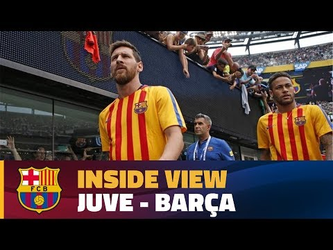 INSIDE TOUR | Behind the scenes: Juve – Barça (ICC 2017)