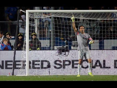 Buffon Confuses Opponent to fail Penalty_Atalanta vs Juventus 0-3  27.9.2014