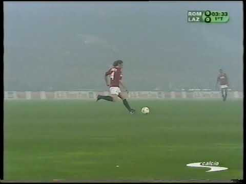 2001-04-29 Roma vs Lazio 2-2 (FULL MATCH) Serie A