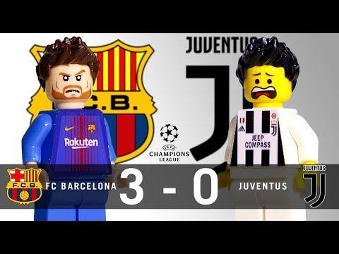LEGO FC Barcelona 3 – 0 Juventus Champions League 2017 / 2018 Group D