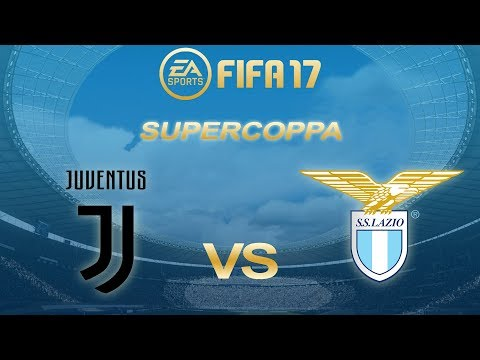 FIFA 17 | Juventus vs Lazio | Supercoppa Italiana | PS4 Full Match