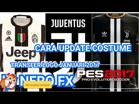 HOW TO UPDATE PES 17 JUVENTUS NEW WITH BAYERN TRANSFER JANUARI