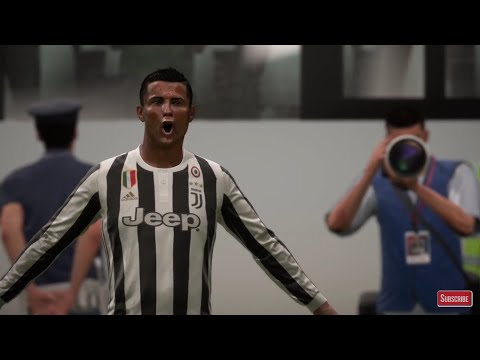 CRISTIANO RONALDO JUVENTUS vs REAL MADRID FIFA 18 GAMEPLAY