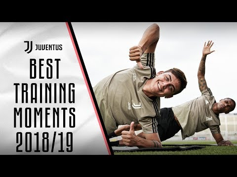 BEST JUVENTUS TRAINING MOMENTS 2018/19