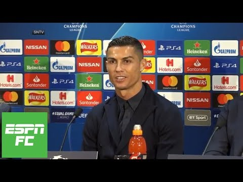 Cristiano Ronaldo press conference for Manchester United vs Juventus in Champions League | ESPN FC