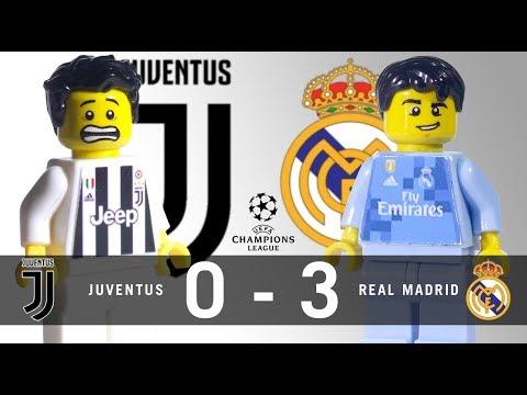 LEGO Juventus 0 – 3 Real Madrid Champions League 2017 / 2018