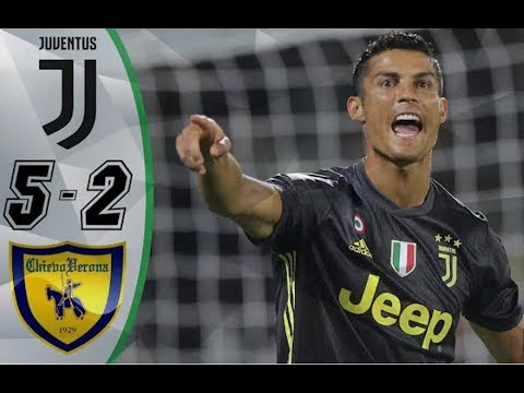 Juventus vs Chievo 5 2   Highlights & Goals Resumen & Goles Last Matches HD HD