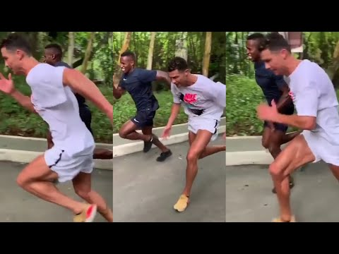 Cristiano Ronaldo getting in even better shape for new season as Juventus