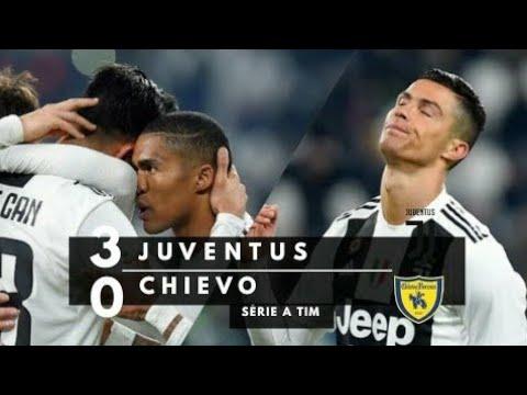 Juventus x Chievo Verona – Melhores Momentos • Douglas Costa Jogou Muito! • 21/01/2019