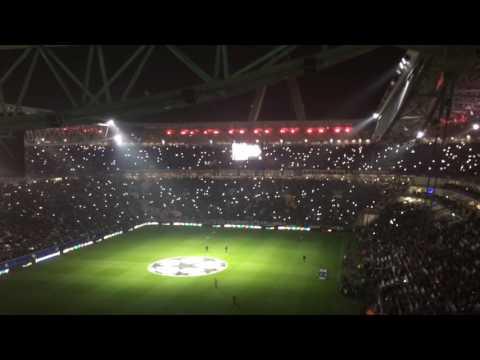 Juventus vs Olympique Lyonnais – Team & Anthem Juventus