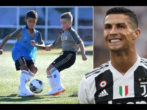 Cristiano Ronaldo Jr ● King of U9 Italy's Seria ● Juventus goals skills