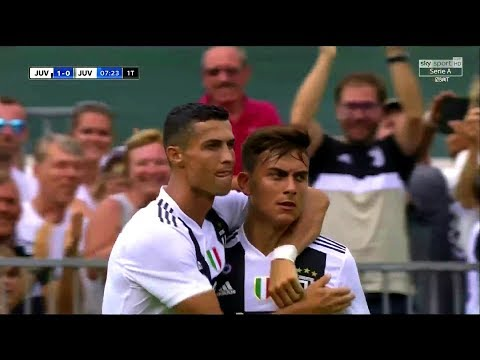 Cristiano Ronaldo Vs Juventus U21 (Debut) 18-19 HD 1080i By zBorges