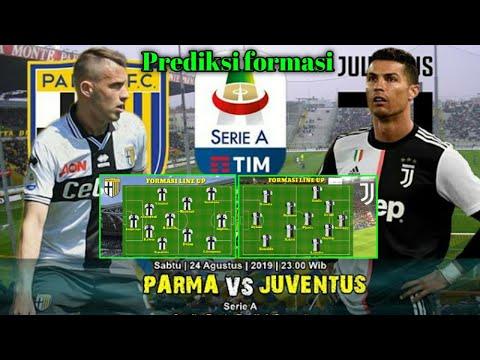 PARMA VS JUVENTUS prediksi formation | match 1 serie A  24/08/19