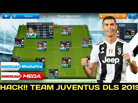 How To Hack Juventus Team 2018-19 ● All Players 100 ● Dream League Soccer 2019 – NEW UPDATE