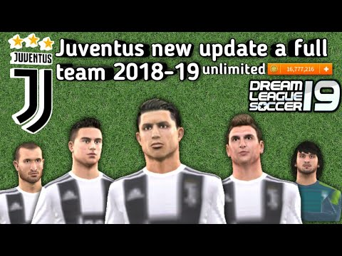 Juventus 🔥2018-19 new Update ALL players 100- Dream League Soccer 2018  download now profile.dat