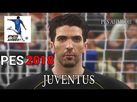 PES 2018 Juventus F.C. Players Faces PS4 | بيس18 وجوه و اشكال الاعبين