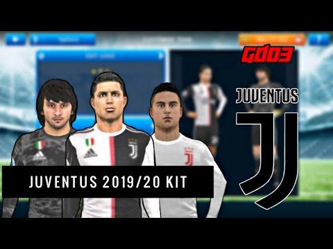 Juventus 2019/20 Kit In Dream League Soccer 2019 | GamerDude03