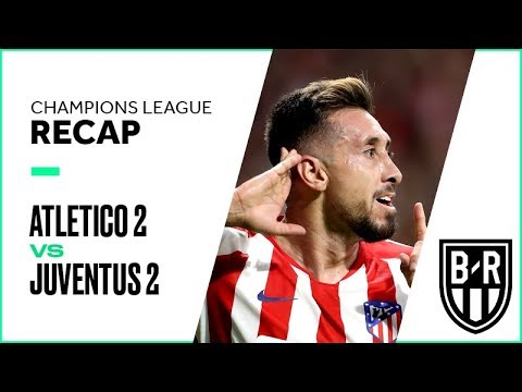 Atletico Madrid 2-2 Juventus: Champions League Group D Recap with Goals and Best Moments