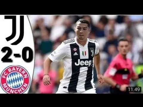 Juventus – 2 Vs  bayern munich – 0 match highlight 26/7/2018