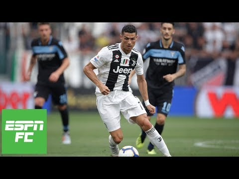 Cristiano Ronaldo's Juventus home debut vs. Lazio [Full Highlights] | ESPN FC
