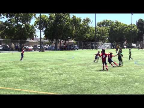 CVSC U9 Boys Gold v. San Jose FC red @ juventus