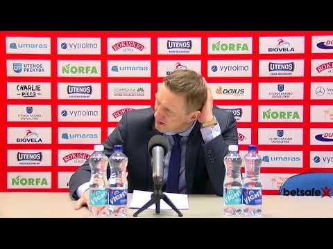 """Betsafe–LKL"" rungtynių komentarai: ""Juventus"" – ""Lietkabelis"" [2018-03-24]"