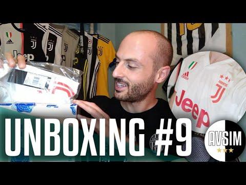 Unboxing away kit Juventus 2019/2020 ||| Avsim Unboxing #9