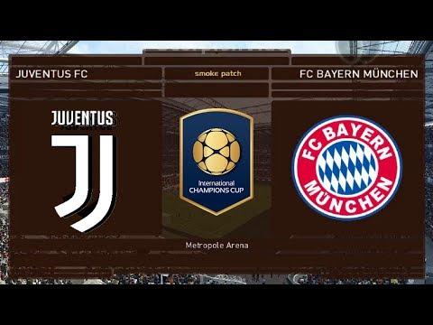 "Juventus Vs Bayern Monaco – Int.Champions Cup 2018 ""Juve: Nuovi Acquisti"" | PES 2018 Patch [Giù]"
