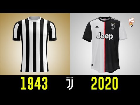 All Juventus Football Kits History 1943 – 2020 ⚽ Juventus Shirts History ⚽ Footchampion