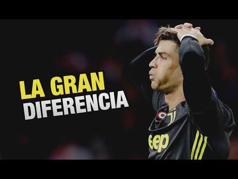 La GRAN DIFERENCIA de tener a Cristiano Ronaldo / Análisis Ajax vs Juventus 1-1