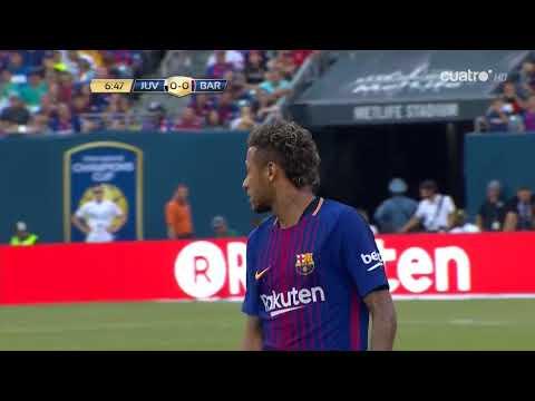 Juventus vs Barcelona Partido Completo En Español  ICC Verano 2017