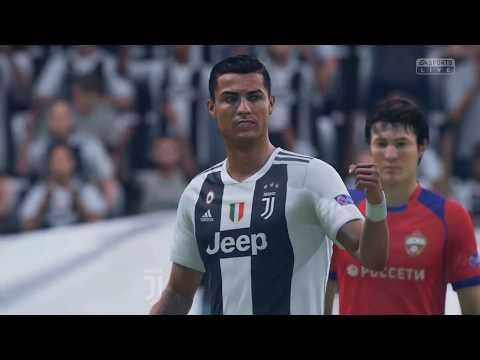 Juventus fans after Ronaldo goal VINCI PER NOI (FIFA19)